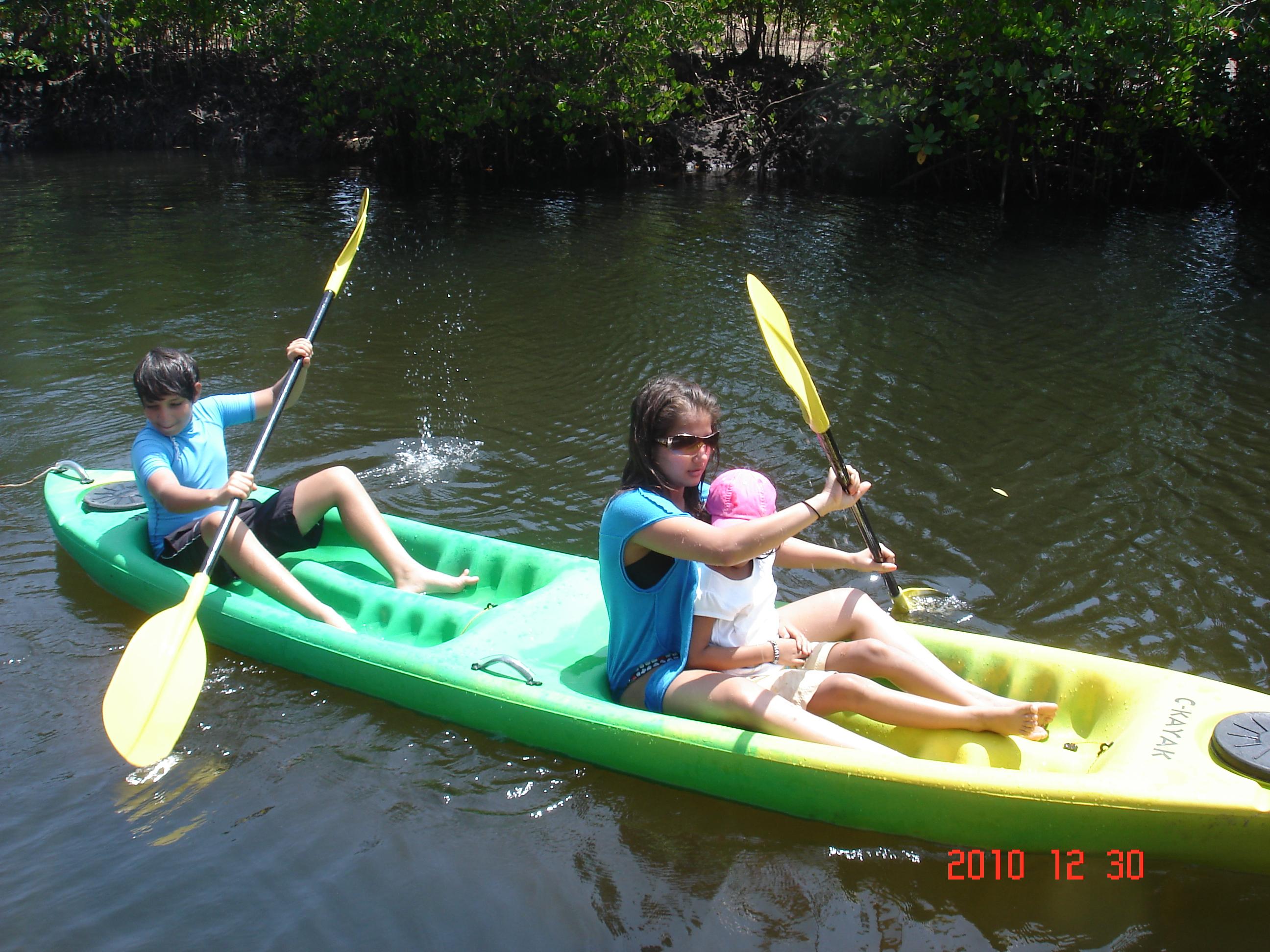 Kayaking in Kenya