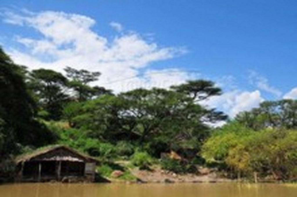 Crescent Island on Lake Naivasha