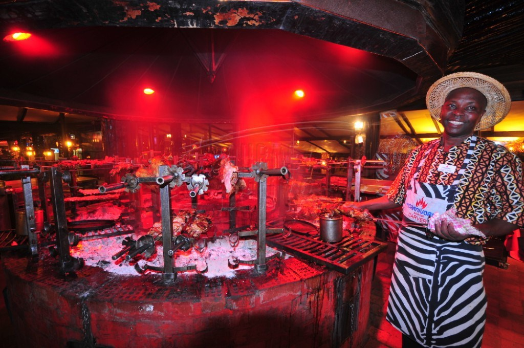 Carnivore grounds in Nairobi