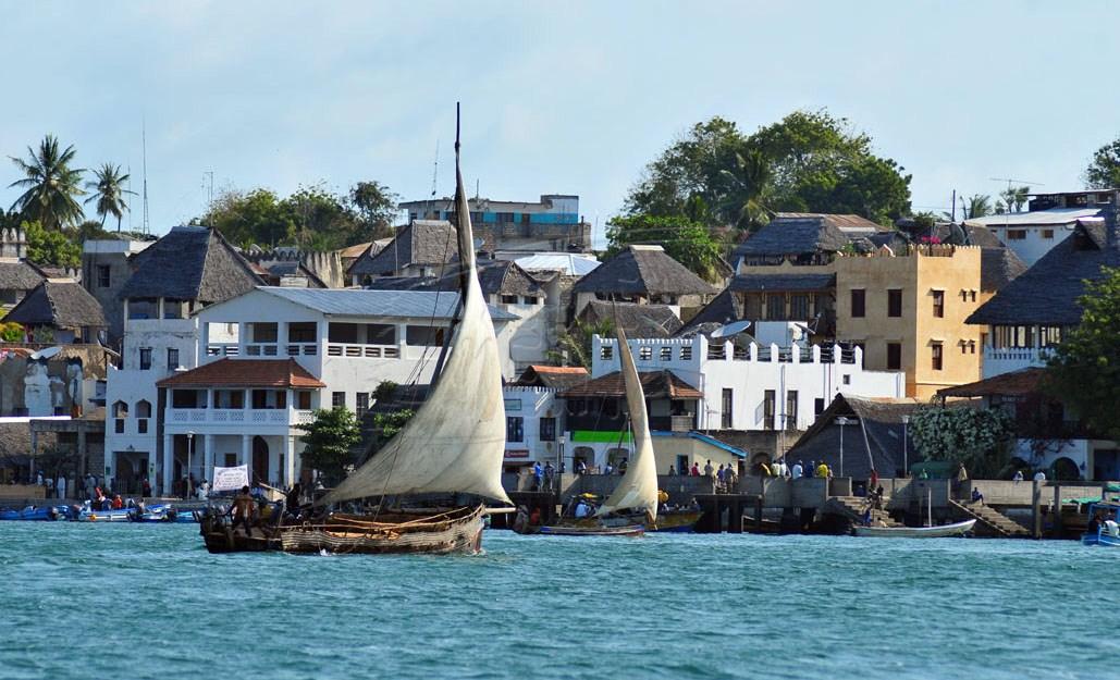 Lamu Town in kenya