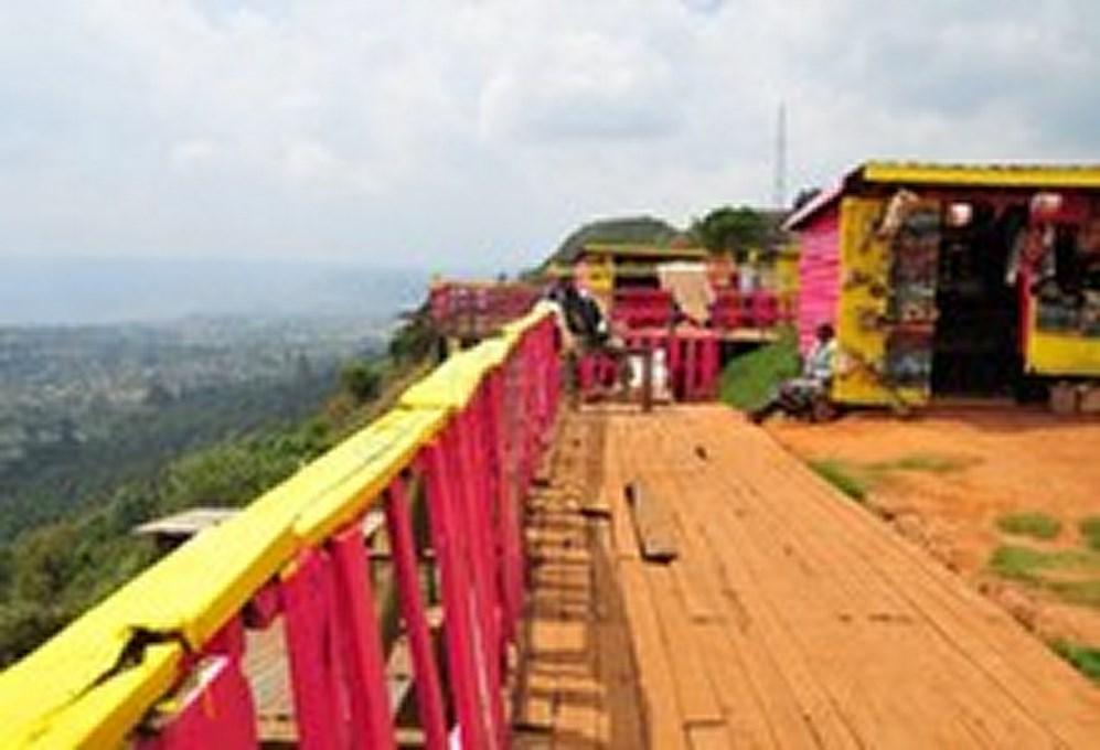 View point along your way to Naivasha
