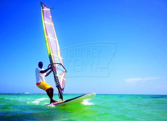 Windsurfing at Malindi