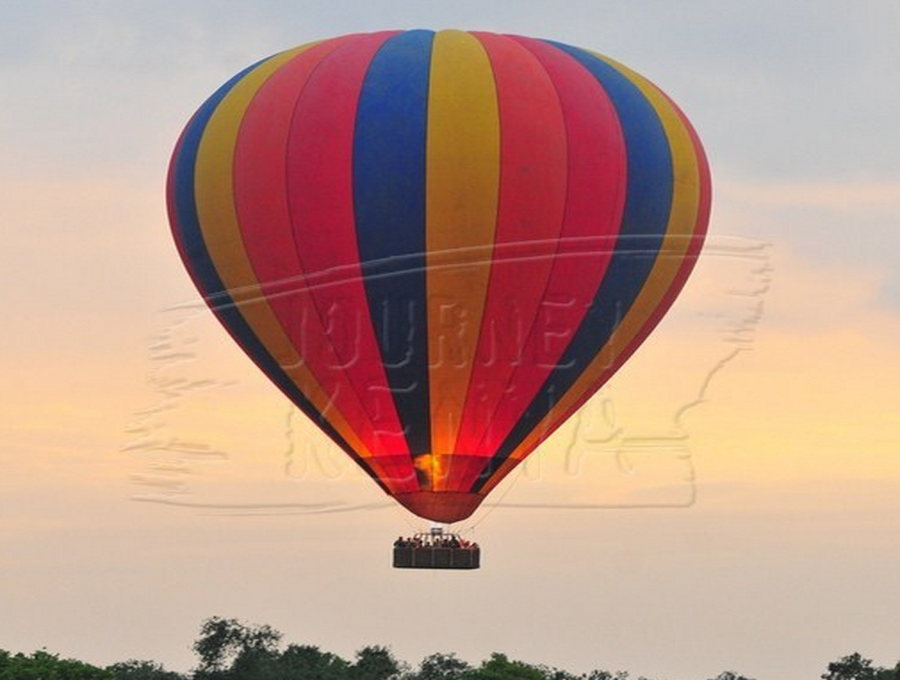 Balloon ride at Maasai Mara