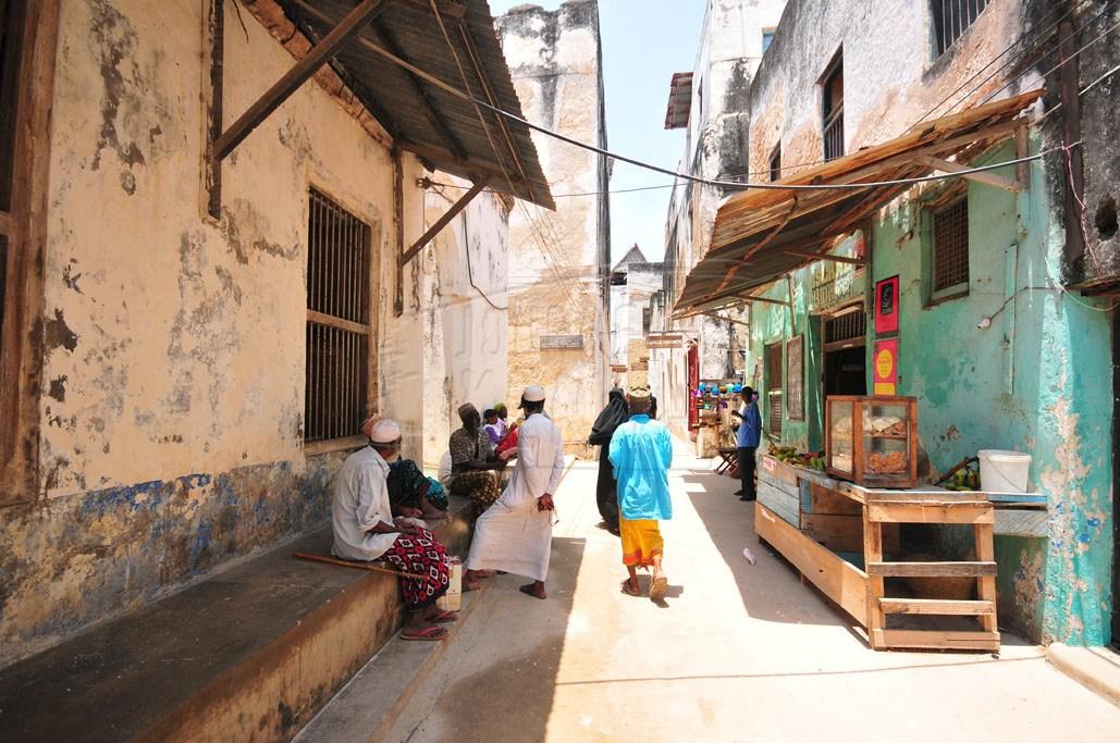 The streets of Lamu Island host the annual Lamu Festival