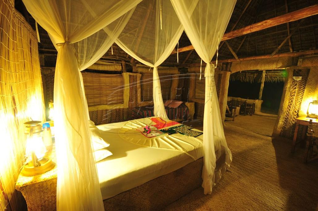 An elegant room at Kipungani Explorer