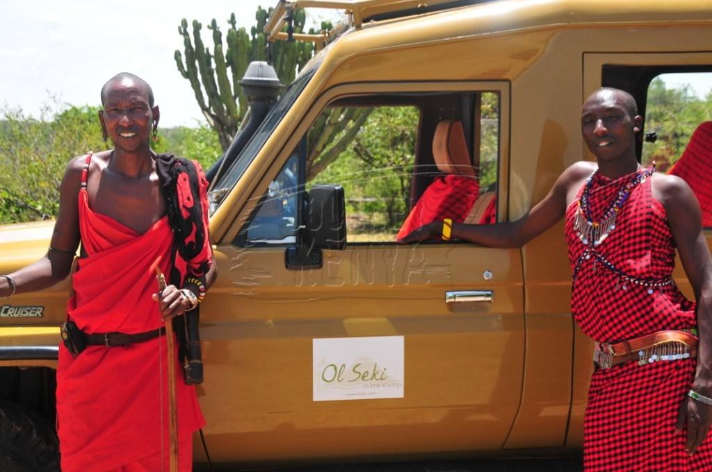 Guides at Ol Seki Hemingways in Maasai Mara