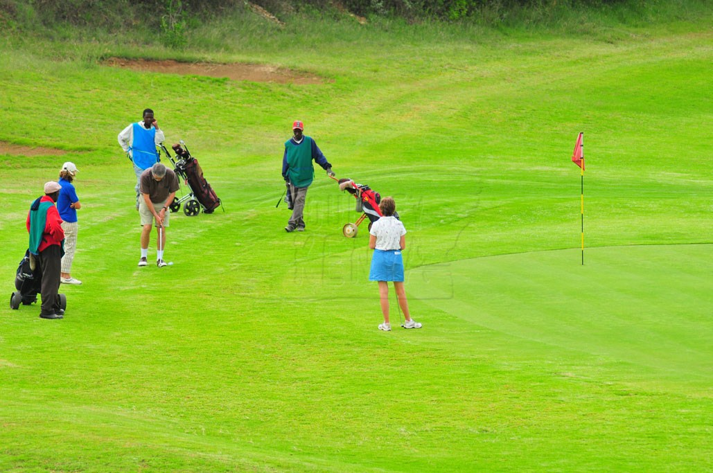 The Great Rift Valley Lodge championship golf course