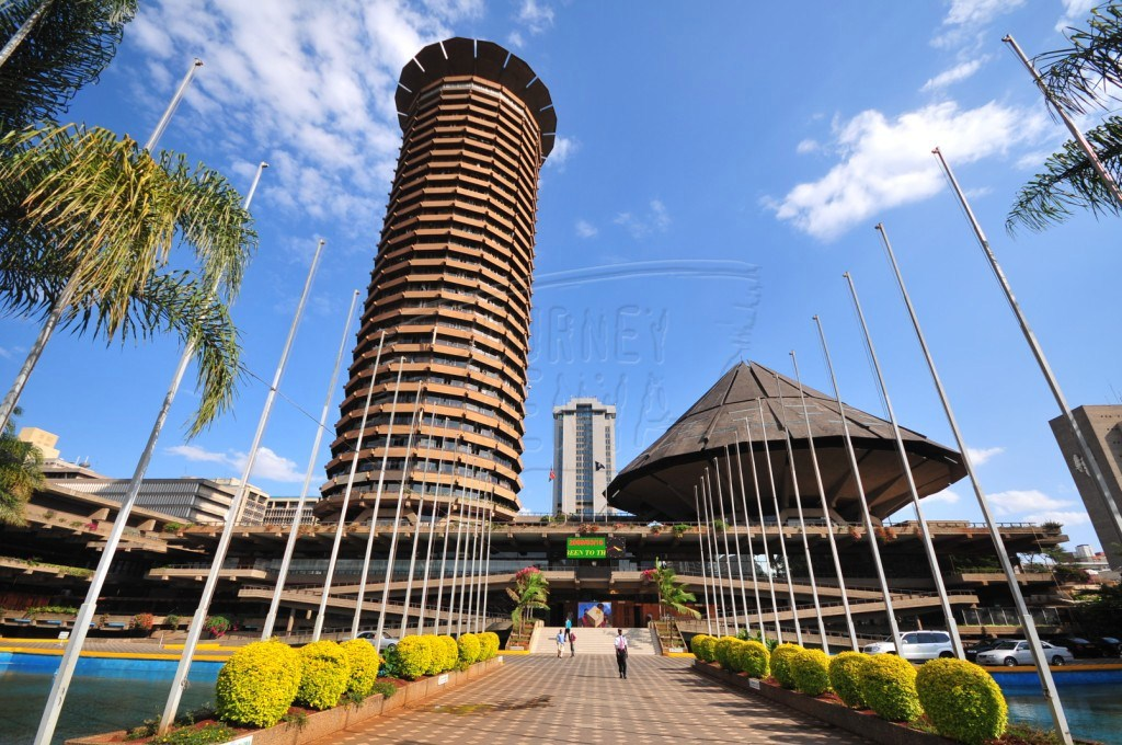 Kenyatta International Conference Centre in Nairobi, where the flagging off ceremony takes place most of the time.