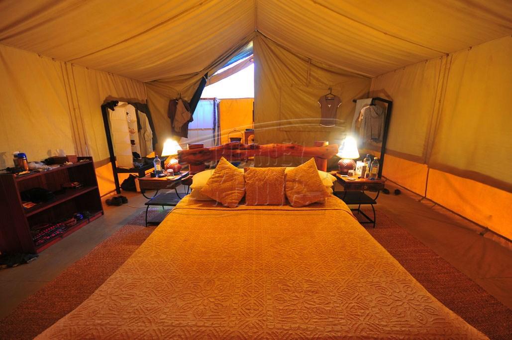 An elegant, spacious tent at Kicheche Mara Camp