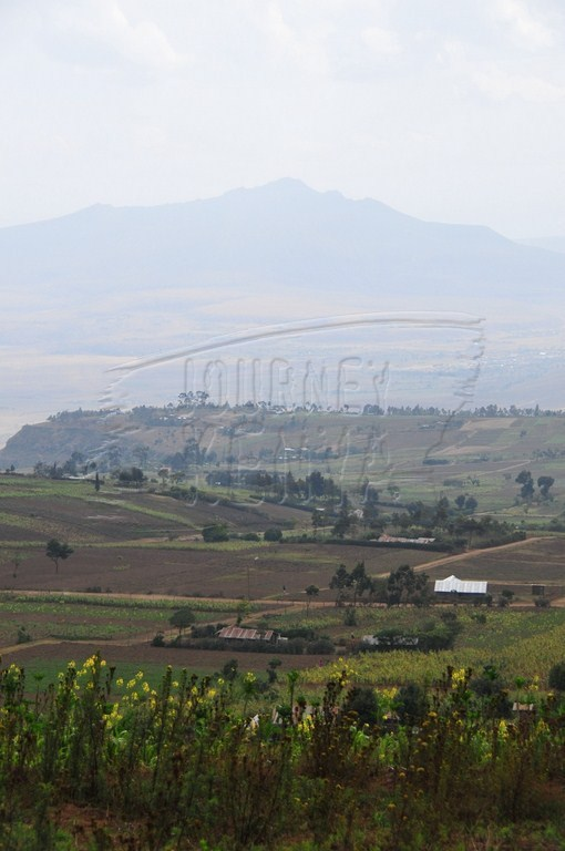 A picturesque view of the Great Rift Valley