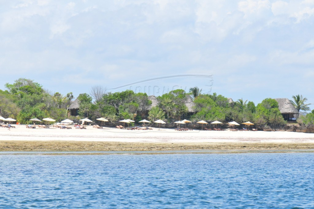 Chale Island is one of the popular destinations at the coast