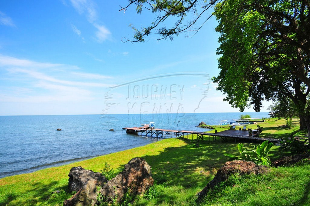 Kisumu, where you find Lake Victoria(pictured), is one of Fly540's destinations