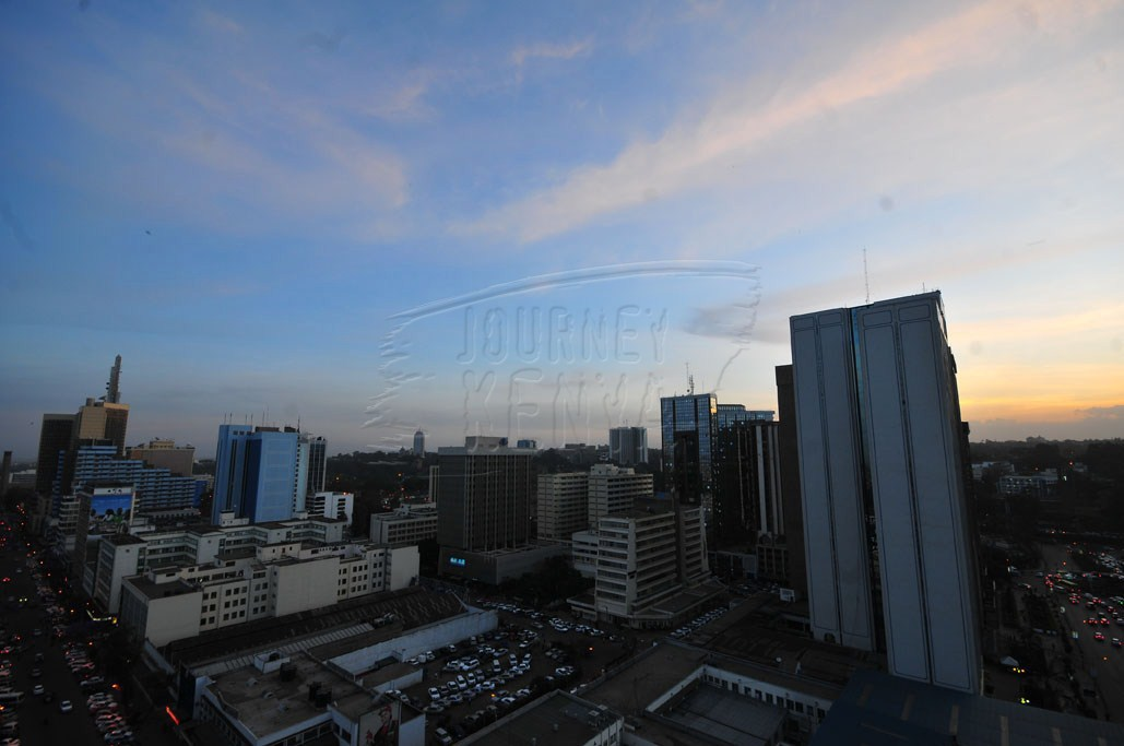 A panorama of Nairobi City