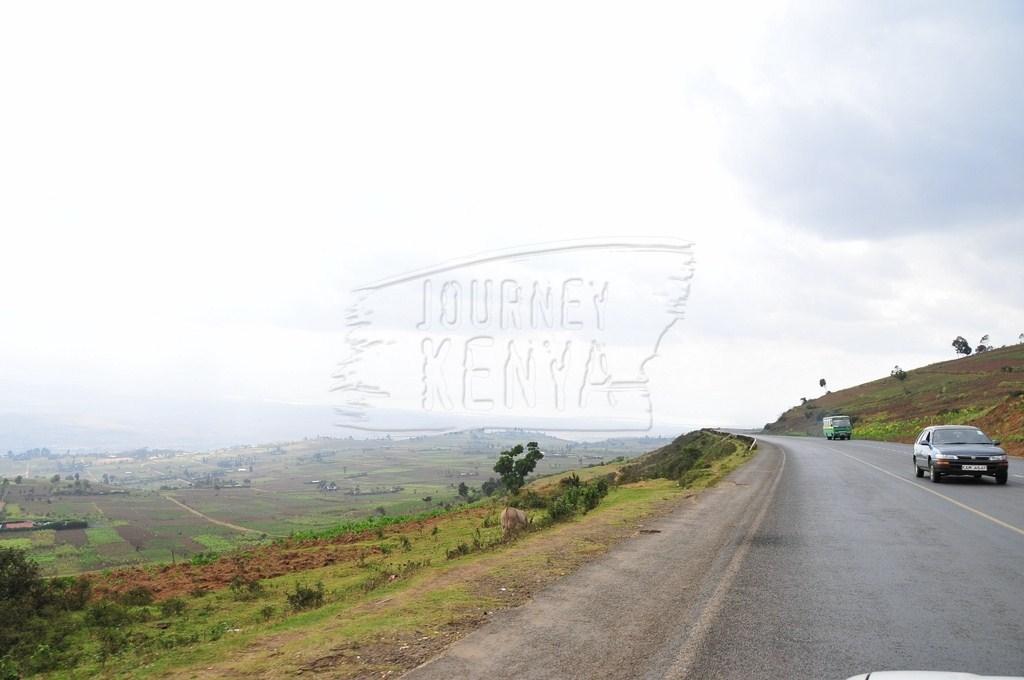 The Nairobi Naivasha Highway