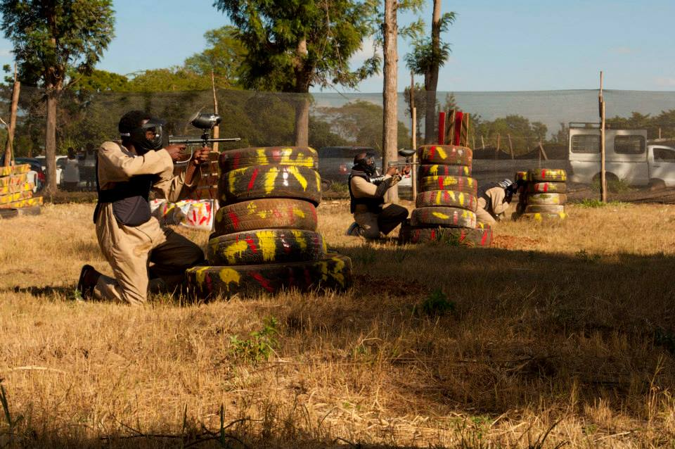 A paintball game at Shooters Haven in Nairobi. Photo Credit: Shooters Haven Nairobi