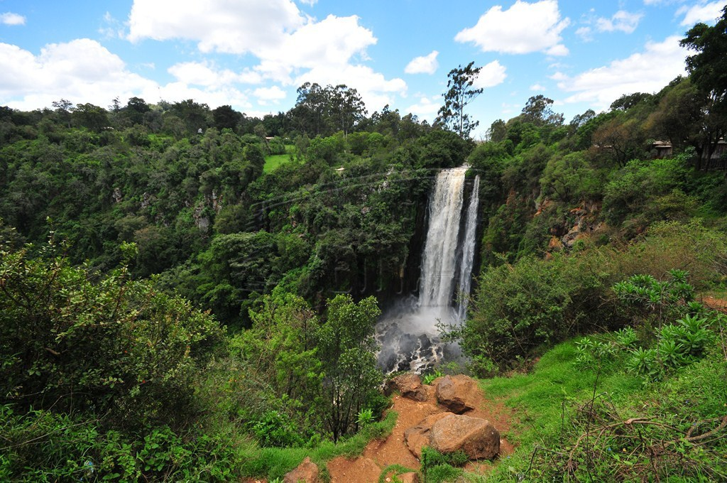 The majestic Thomson's Falls in Nyahururu