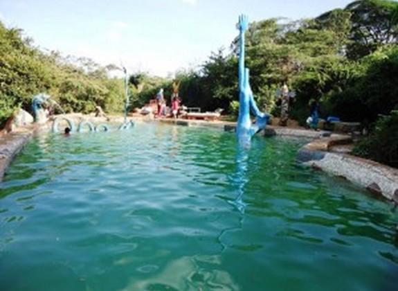 Swimming pool at Kitengela Glass