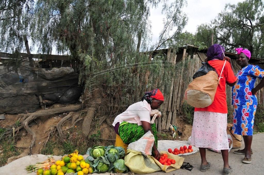 Market in Naivasha