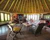 Inside view of Kifaru Cabin