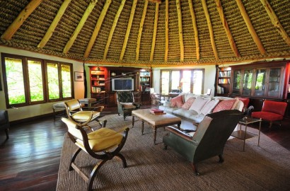Inside view of Kifaru Cabin