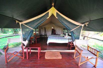 Tented Camp rooms