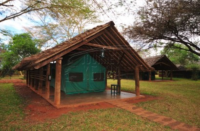 Voyager Tsavo tented camp