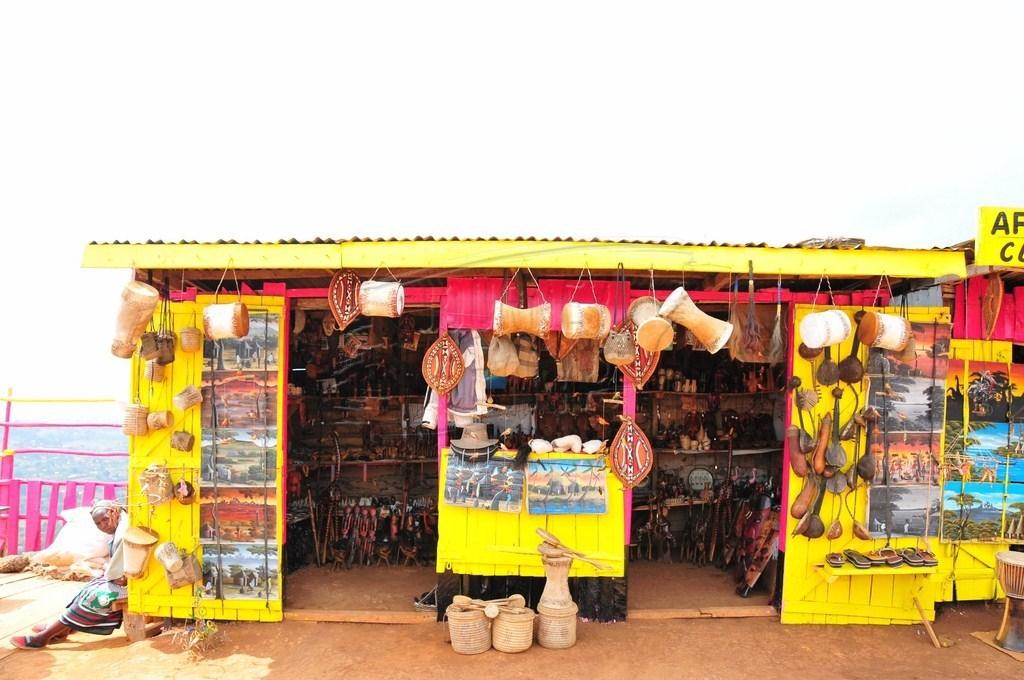 Curio Shop in Kenya