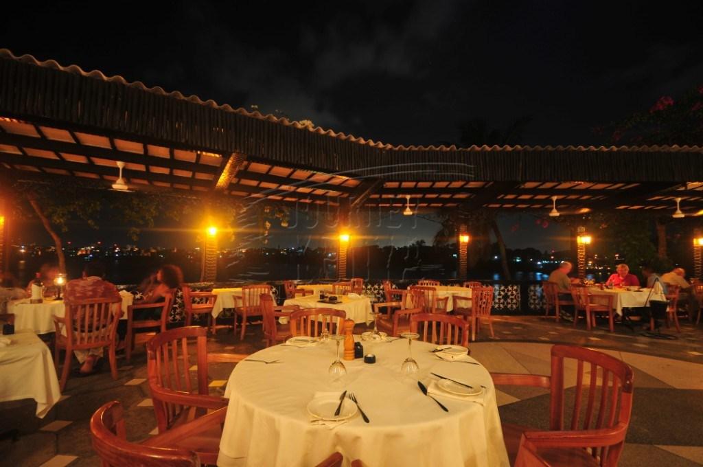An elegant dining area