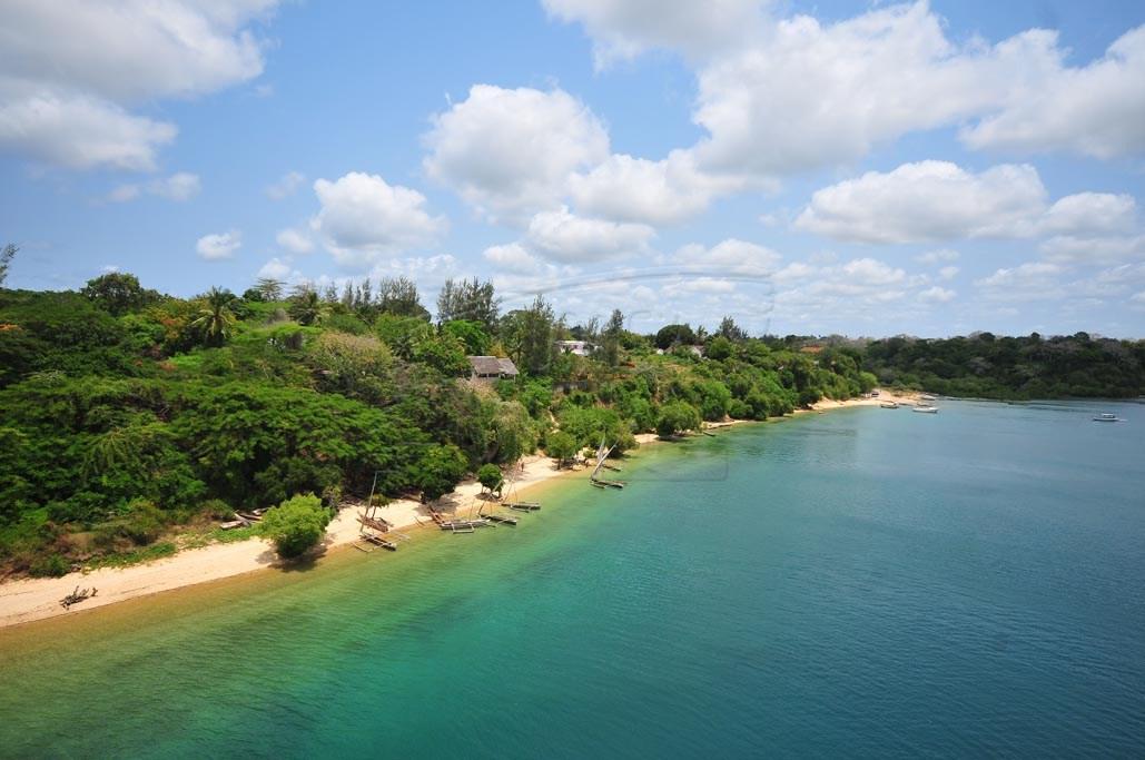 The beautiful coast of Kenya