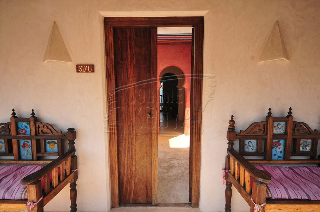 Lamu House is a refurbished Swahili house.