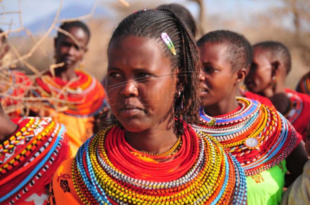 A Samburu girl