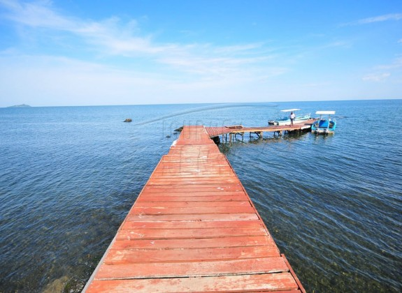 Splendid view of Lake Victoria from Mfangano Island.