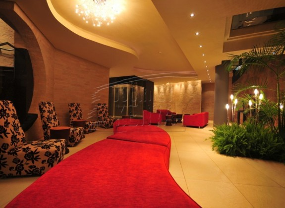 An elegant, relaxing lounge at the Tribe Hotel